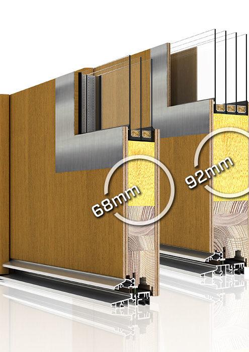 Drzwi drewniane zewnętrzne płytowe